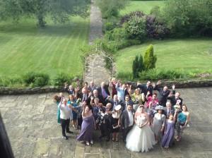 Weddig guests at Heskin Hall