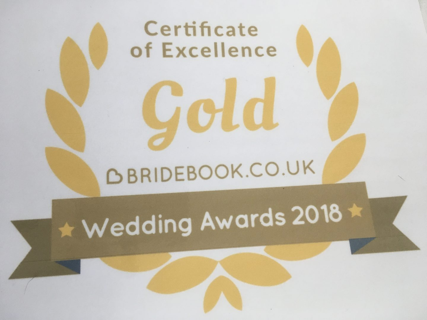 Wedding Venue Award